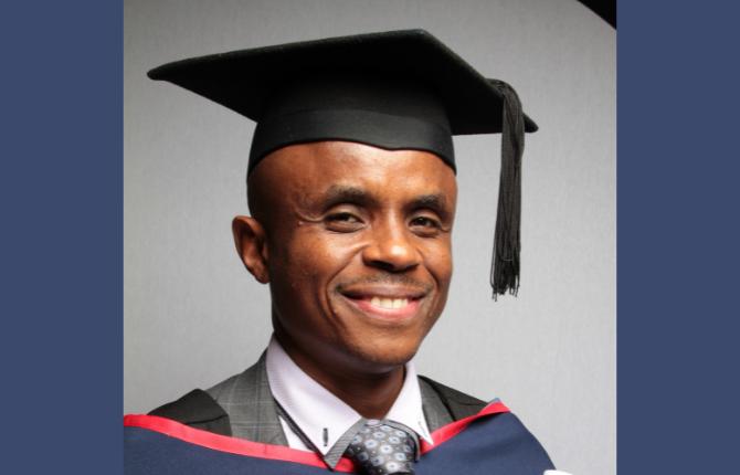 2021 International Student of the Year Winner, James Karanja