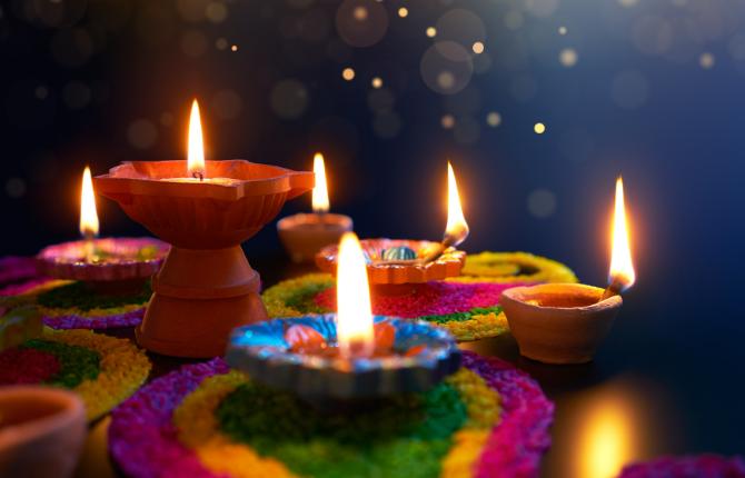 Diwali Celebration at a StudyAdelaide Event