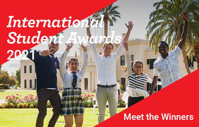 Winners at the StudyAdelaide International Student Awards