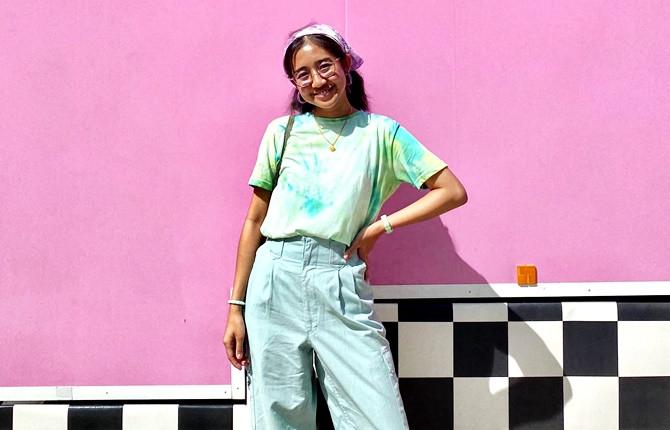 International student Asirah from Malaysia