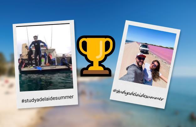 StudyAdelaide Summer Winners