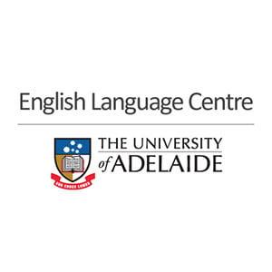 English Language Centre at The University of Adelaide Logo